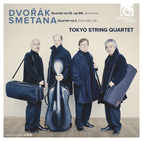 Dvořák: Quartet No.12 - Smetana: Quartet No.1