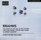 Brahms: Transcriptions for Piano