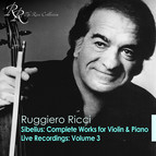 Sibelius, J.: Violin and Piano Works (Complete) / Violin Recital: Ricci, Ruggiero - Bach, J.S. / Hindemith, P.