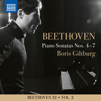 Beethoven 32, Vol. 2: Piano Sonatas Nos. 4-7