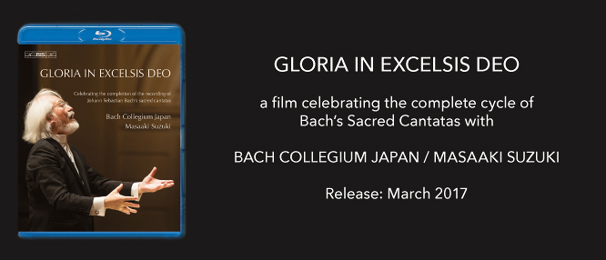 Now available on Blu-ray Disc from BIS: a film documenting the recording of the last volume in the Bach Sacred Cantatas cycle