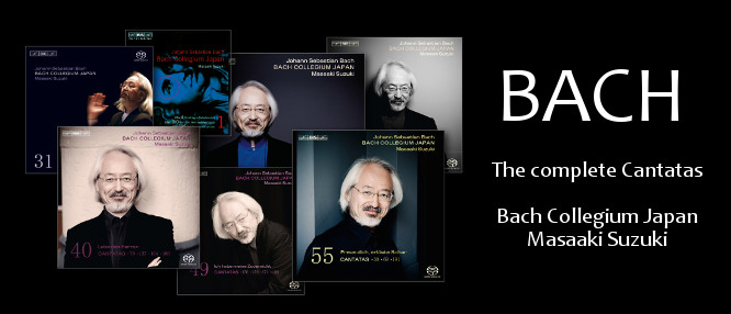 The Bach Collegium Japan, led by Masaaki Suzuki, released the complete sacred cantatas by J.S. Bach on BIS